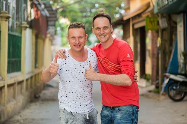 Pascal Brodnicki i Paweł Dobrzański