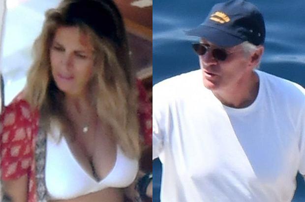 Richard Gere na wakacjach z żoną