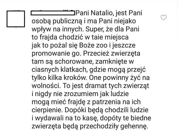 Instagram Natalii Siwiec