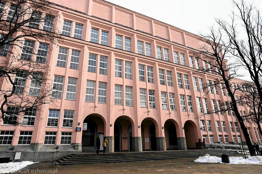 Budynek Szkoły Głównej Handlowej w Warszawie, al. Niepodległości 128