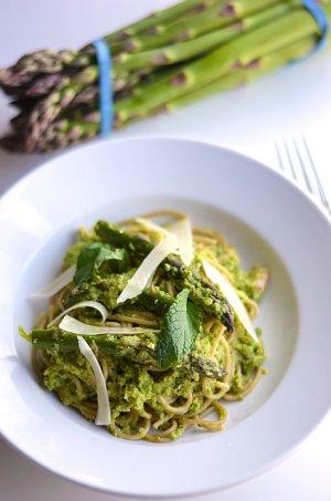 Pesto ze szparagów i cukinii