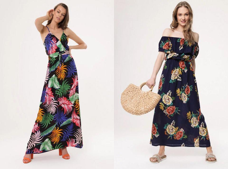 Sukienki w wersji maxi do 60 złotych