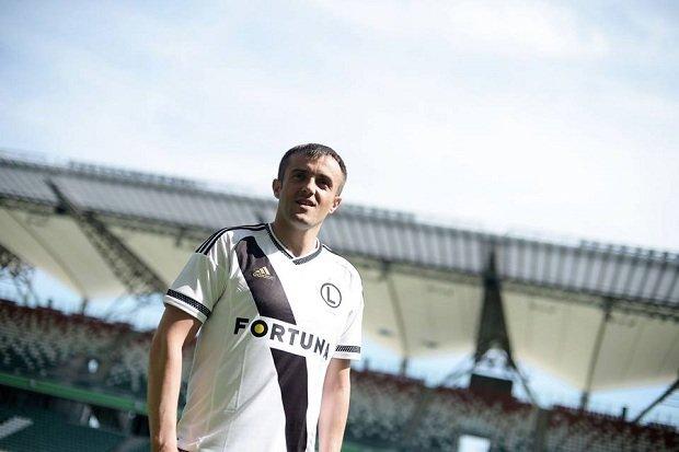 Miroslav Radović odwiedził stadion Legii
