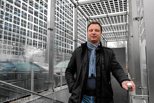 Współwłaściciel firmy ML System Dawid Cycoń.