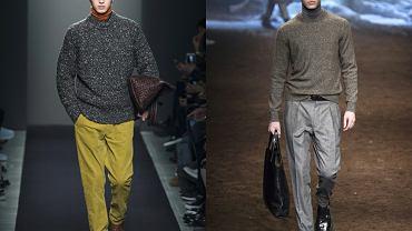 Moda męska z wybiegu - jesień 2015