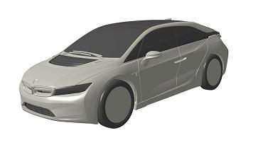 Szkice patentowe BMW i5