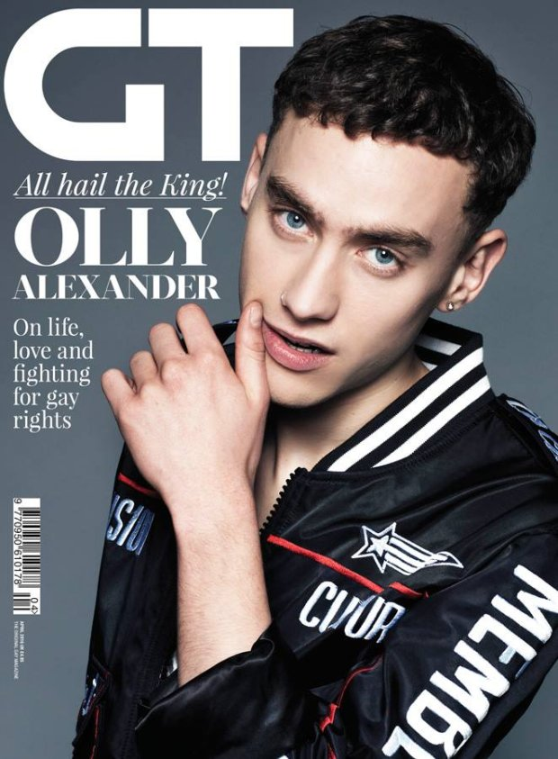 Olly Alexander na okładce