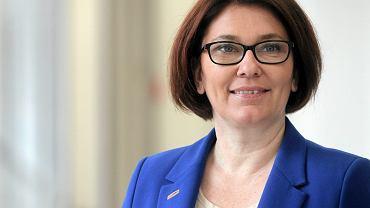 Rzecznik prasowa klubu parlamentarnego PiS -  Beata Mazurek