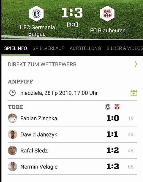 Dawid Janczyk strzelił gola w nowym klubie