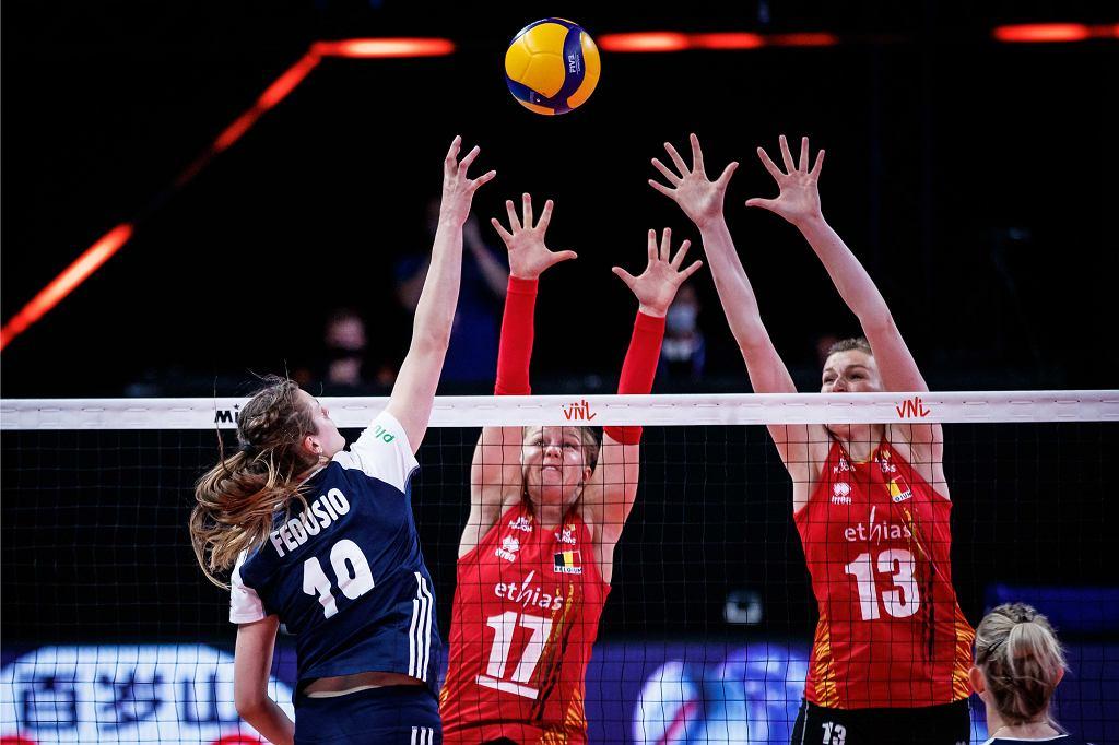 Liga Narodów: Belgia - Polska, siatkówka