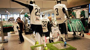 W lutym Legia otworzyła na stadionie nowy sklep kibica