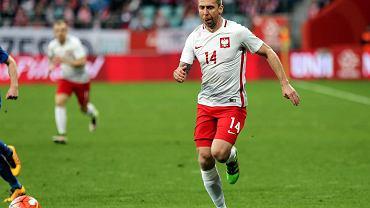 Polska - Finlandia 5:0. Jakub Wawrzyniak