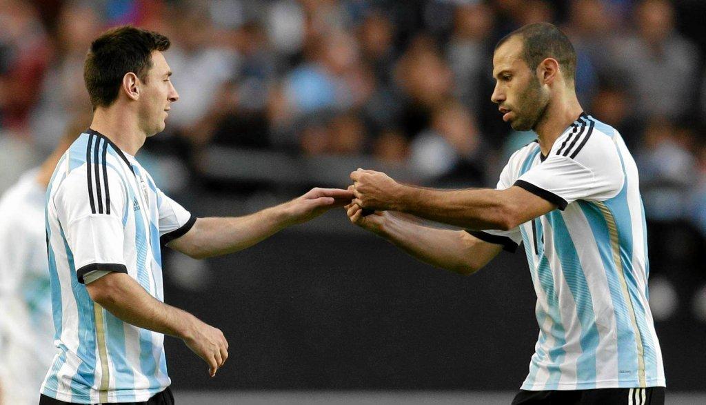 Lionel Messi i Javier Mascherano