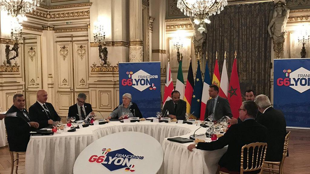 Joachim Brudziński na spotkaniu G6