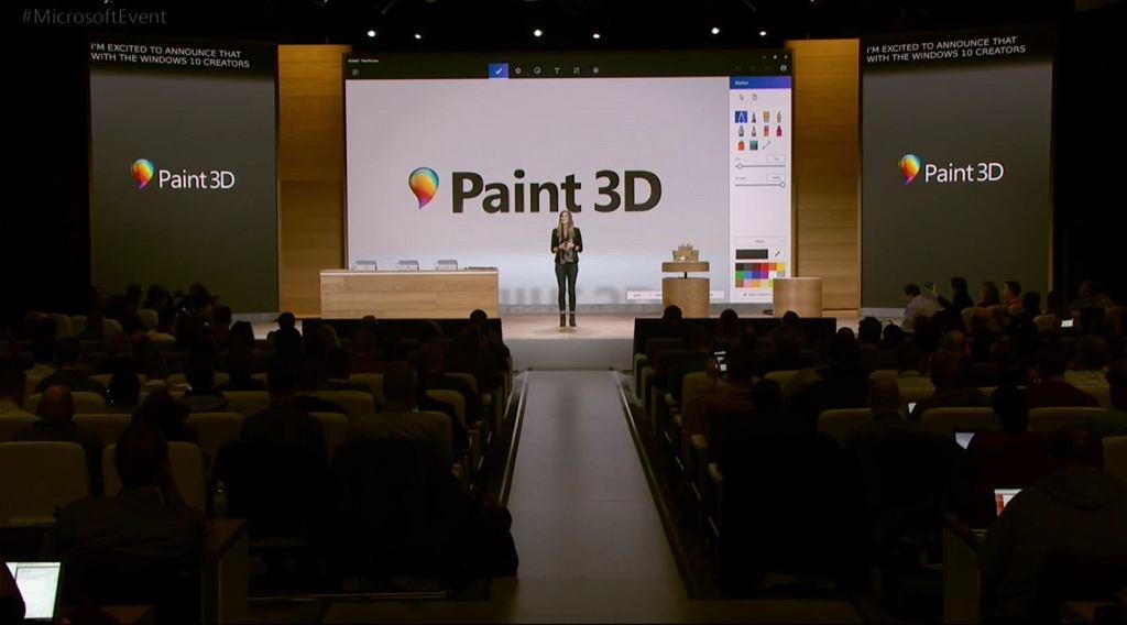 Paint 3D w Windows 10 Creators Update