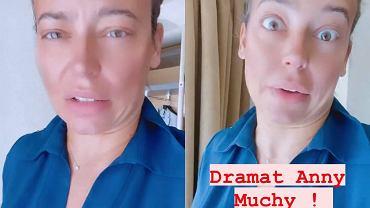 """""""Dramat Anny Muchy""""! Aktorka czuje się oszukana. Nie ukrywała rozżalenia i prosi fanów o pomoc"""