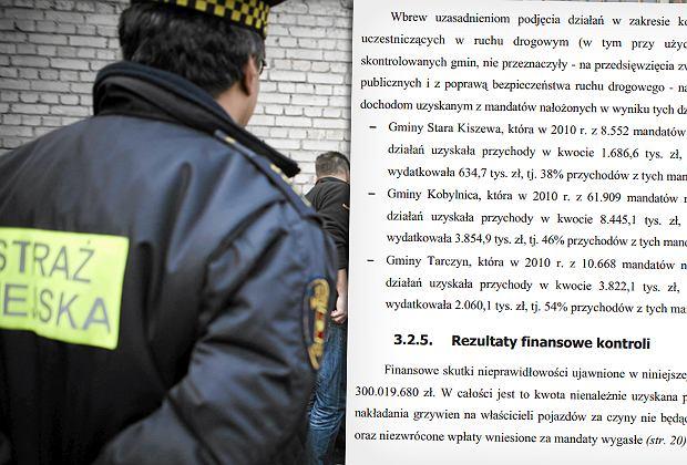 NIK ma wiele zastrzeżeń do działań straży miejskich