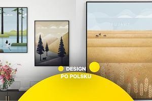 Z cyklu 'Design po polsku'. Mazowsze, Bieszczady czy Mazury? Powstała seria plakatów z polską fauną i florą