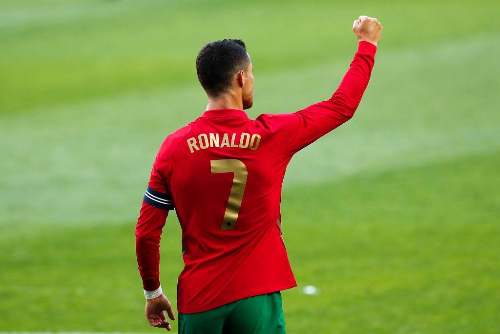 Cristiano Ronaldo w reprezentacji Portugalii.