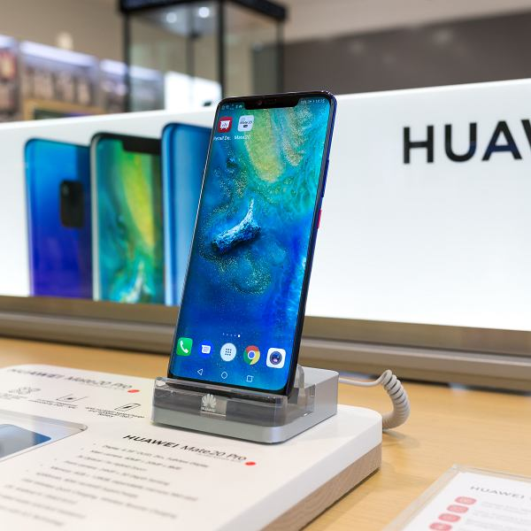 Telefon marki Huawei