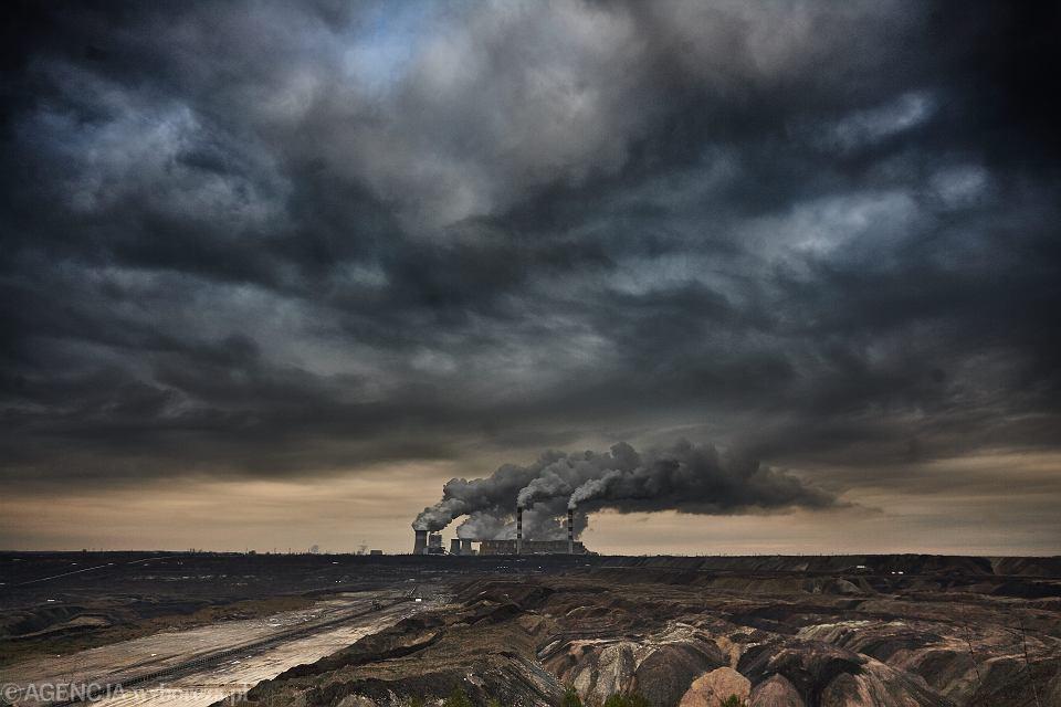 Kleszczów, elektrownia i kopalnia