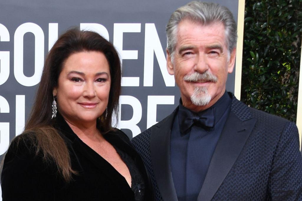 Pierce Brosnan z żoną Keely Shaye Brosnan