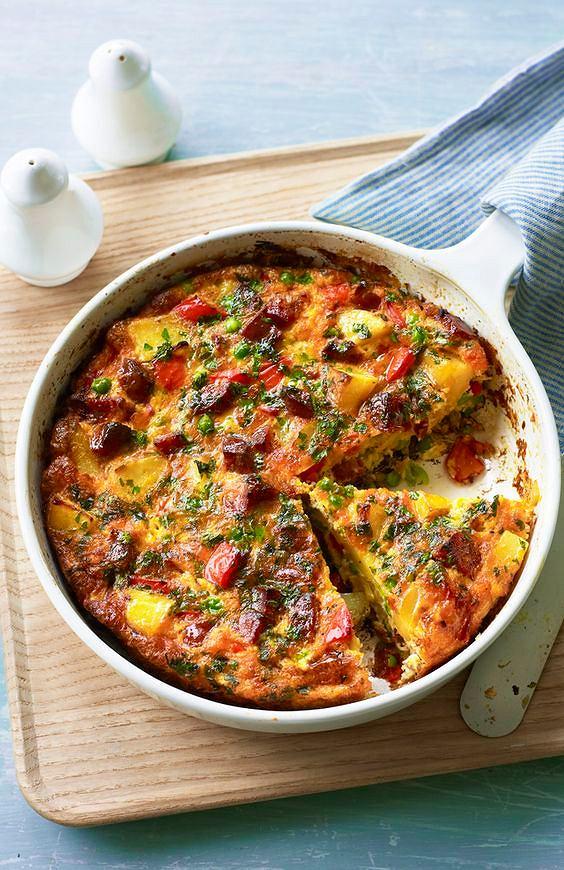 Frittata to doskonały pomysł zarówno na śniadanie, obiad, jak i kolację