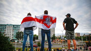 Protesty w Mińsku - zdjęcie ilustracyjne