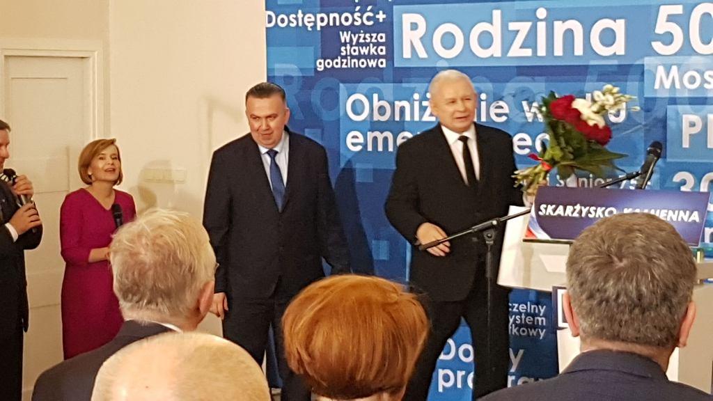 Spotkanie z Jarosławem Kaczyńskim w Skarżysku-Kamiennej, fot. Gazeta.pl
