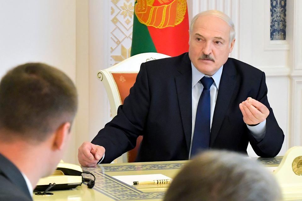 Aleksander Łukaszenka, 14 sierpnia 2020 r.