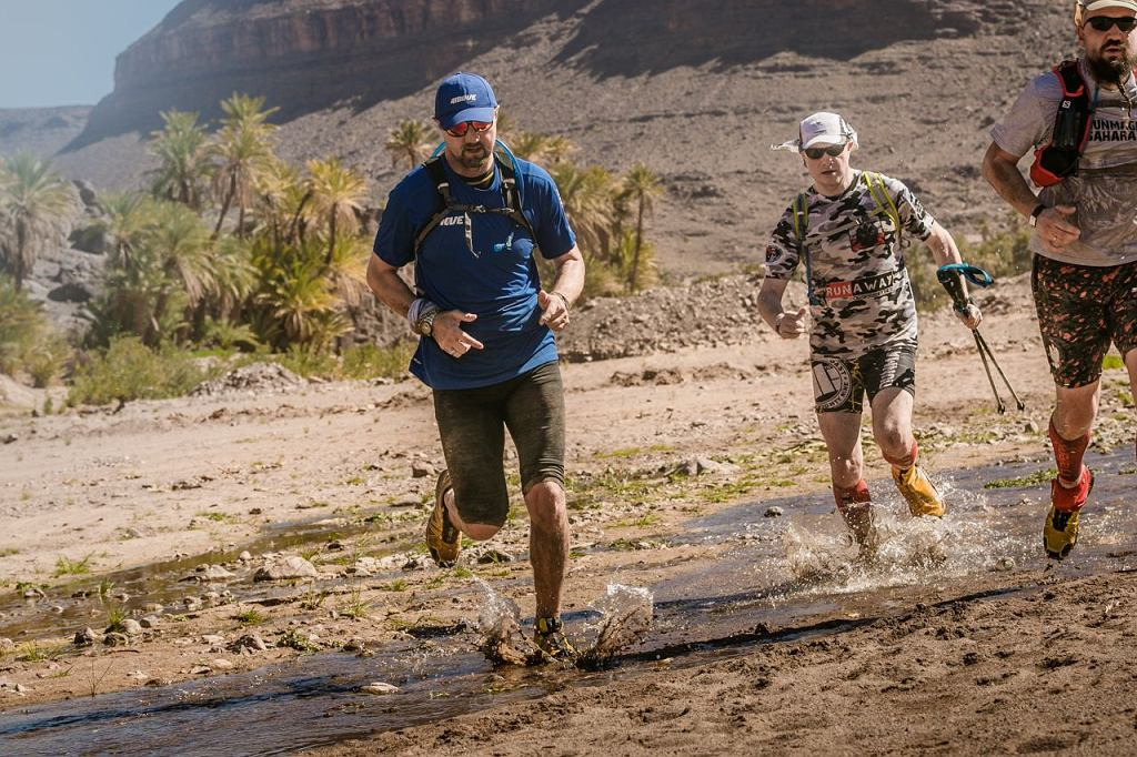 Jerzy Dudek podczas Runmageddonu Sahara