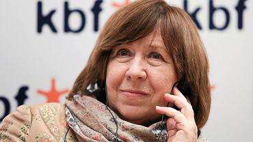 Swietłana Aleksijewicz, białoruska pisarka, noblistka