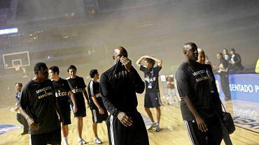 Z powodu awarii prądu w hali Arena Ciudad de Mexico odwołany został mecz koszykarskiej NBA między drużynami Minnesota Timberwolves i San Antonio Spurs.