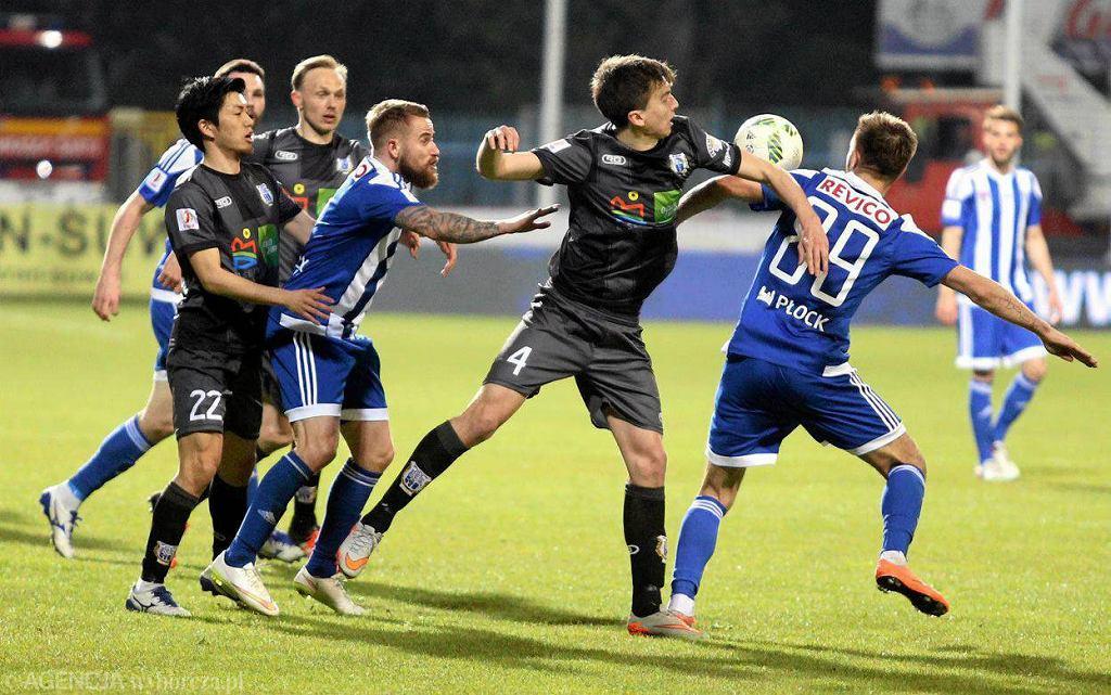 Piłka nożna, I liga. Wisła Płock - Stomil Olsztyn 0:0