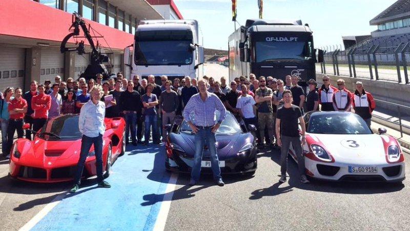 Clarkson i ekipa zaczęli zdjęcia do nowego programu