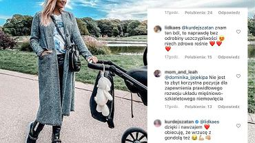 Pierwszy spacer małego Henia zakończył się dyskusją fanów na Instagramie.