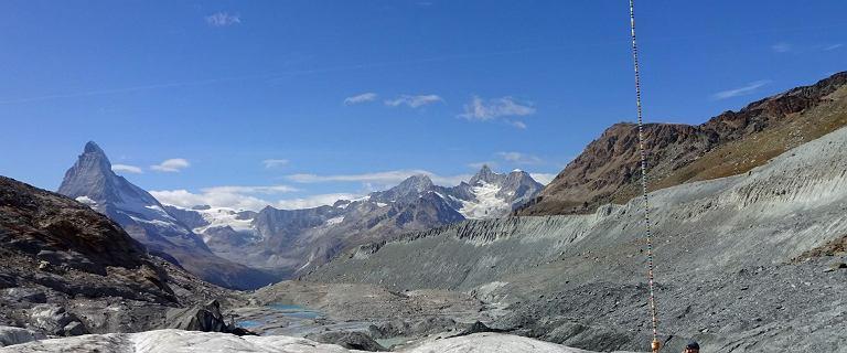 Szwajcaria. Lodowiec stracił osiem metrów lodu tylko tego lata