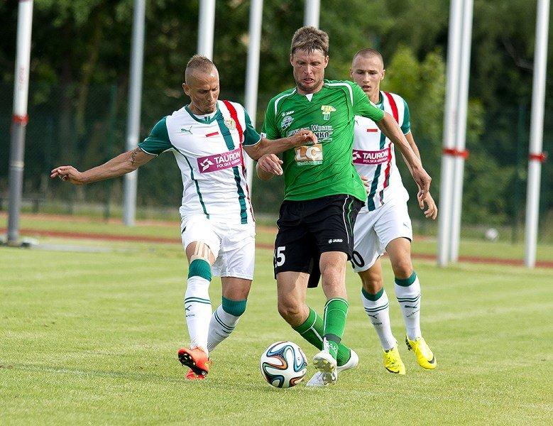 Strzelec jednej z bramek w meczu z Górnikiem - Sebino Plaku