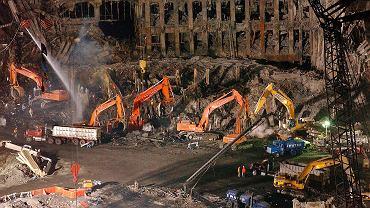 Gruzy WTC, 7 listopada 2001 r.