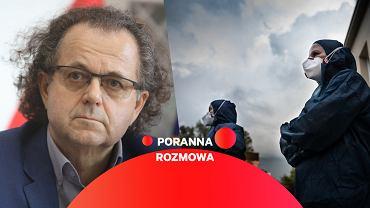 Dr Andrzej Trybusz, były Główny Inspektor Sanitarny, gościem Gazeta.pl