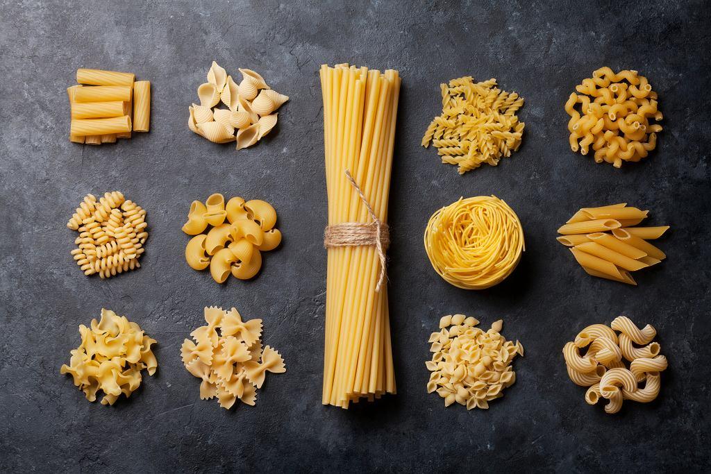 Włoskie makarony to podstawa sycących dań