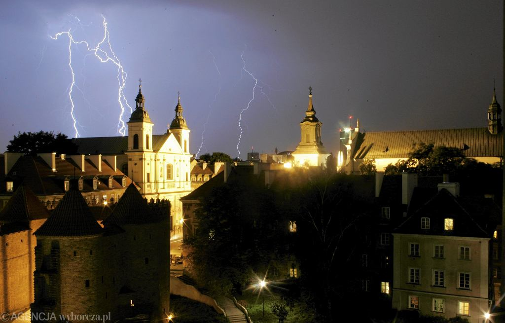 Prognoza pogody Warszawa