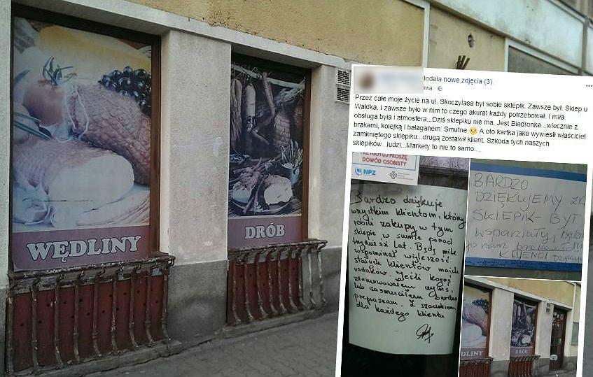 Sklep na Pradze-Północ został zamknięty. Właściciel zostawił dla klientów wzruszającą wiadomość