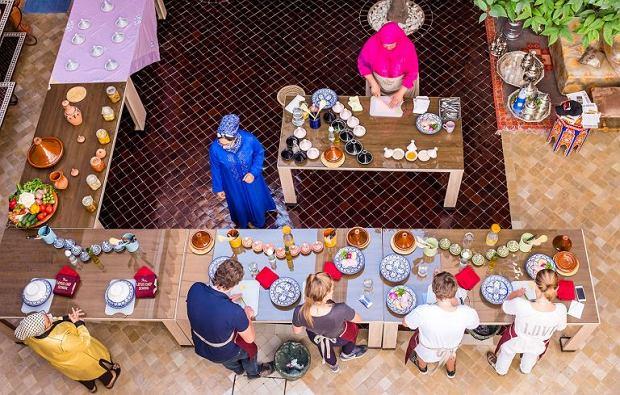 Warsztaty kulinarne w Lotus Chef w Marrakeszu