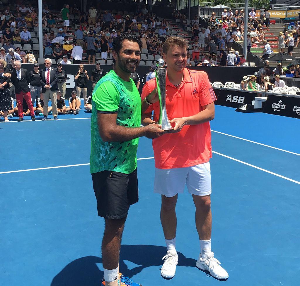 Marcin Matkowski w parze z Pakistańczykiem Aisimem-Ul-Haq Qureshim wygrali deblowy turniej ASB Classic w Auckland.