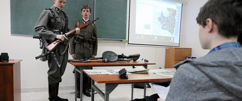Lekcja historii w szkole (fot. Jarosław Kubalski/AG)