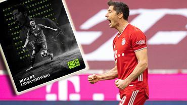 Robert Lewandowski najlepszym piłkarze 2020 roku wg Goal.com