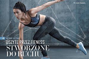 Reebok prezentuje legginsy i spodenki uszyte przez fitness, stworzone do ruchu.