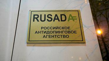 Siedziba rosyjskiej agencji antydopingowej