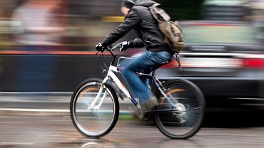 po mieście rowerem